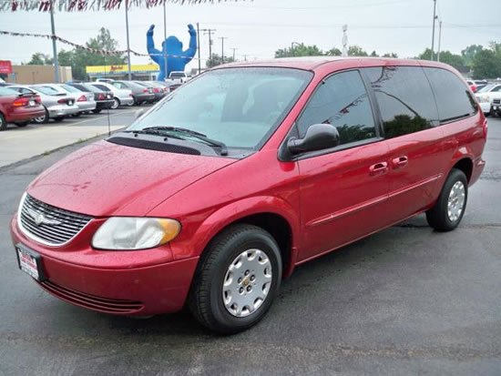 2007 chrysler town and country maintenance schedule